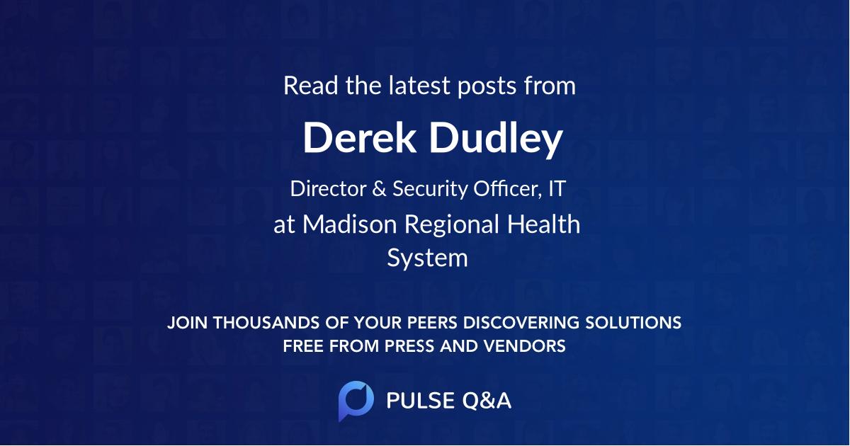 Derek Dudley