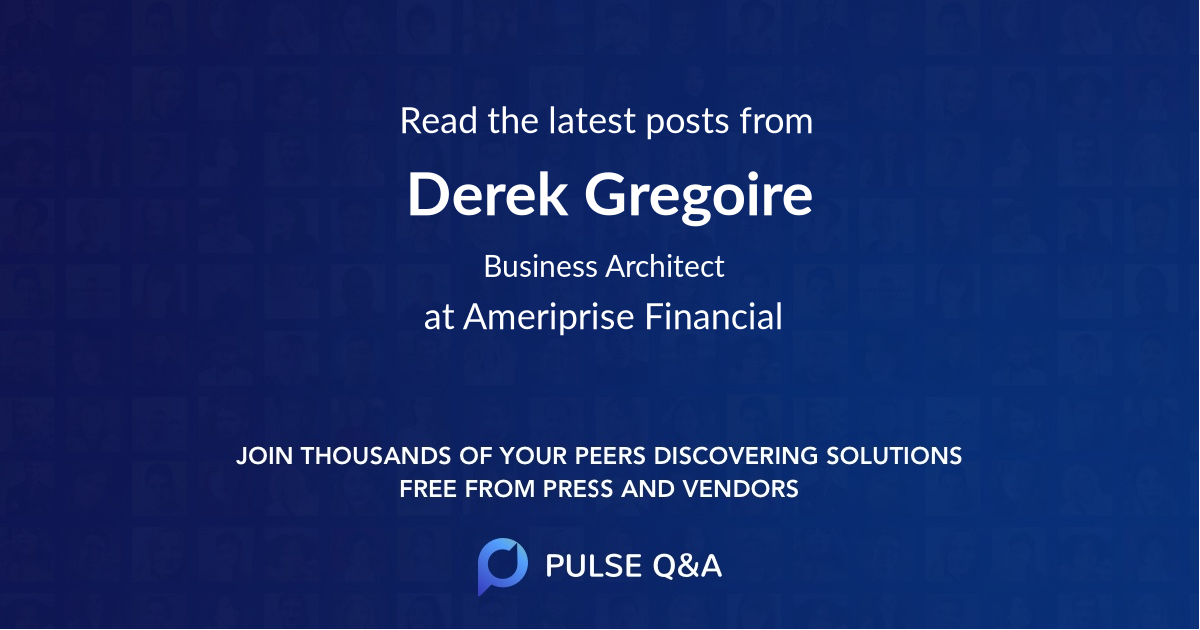 Derek Gregoire