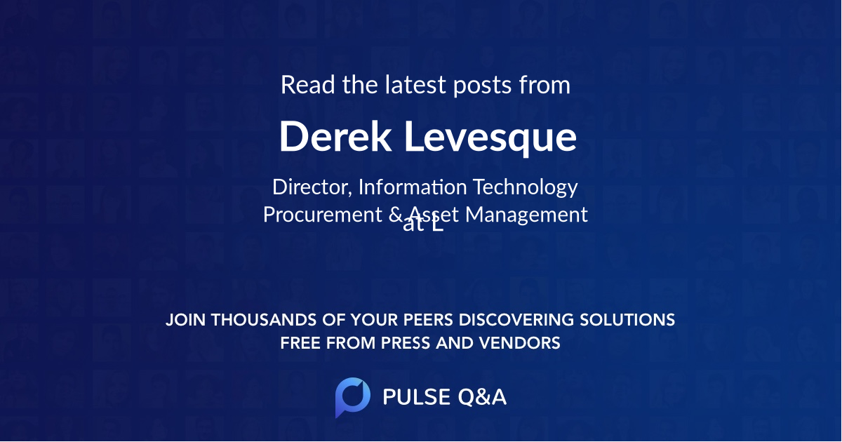 Derek Levesque