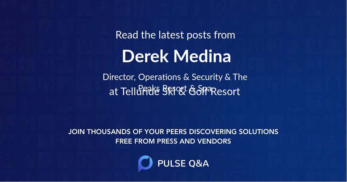 Derek Medina