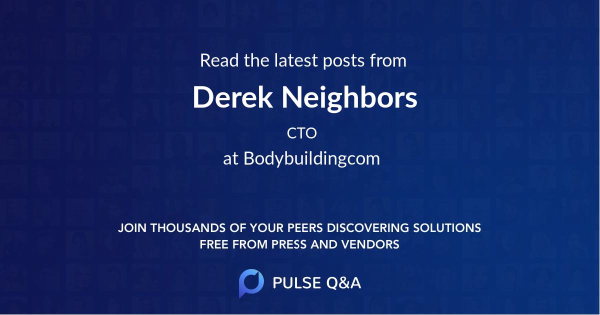 Derek Neighbors