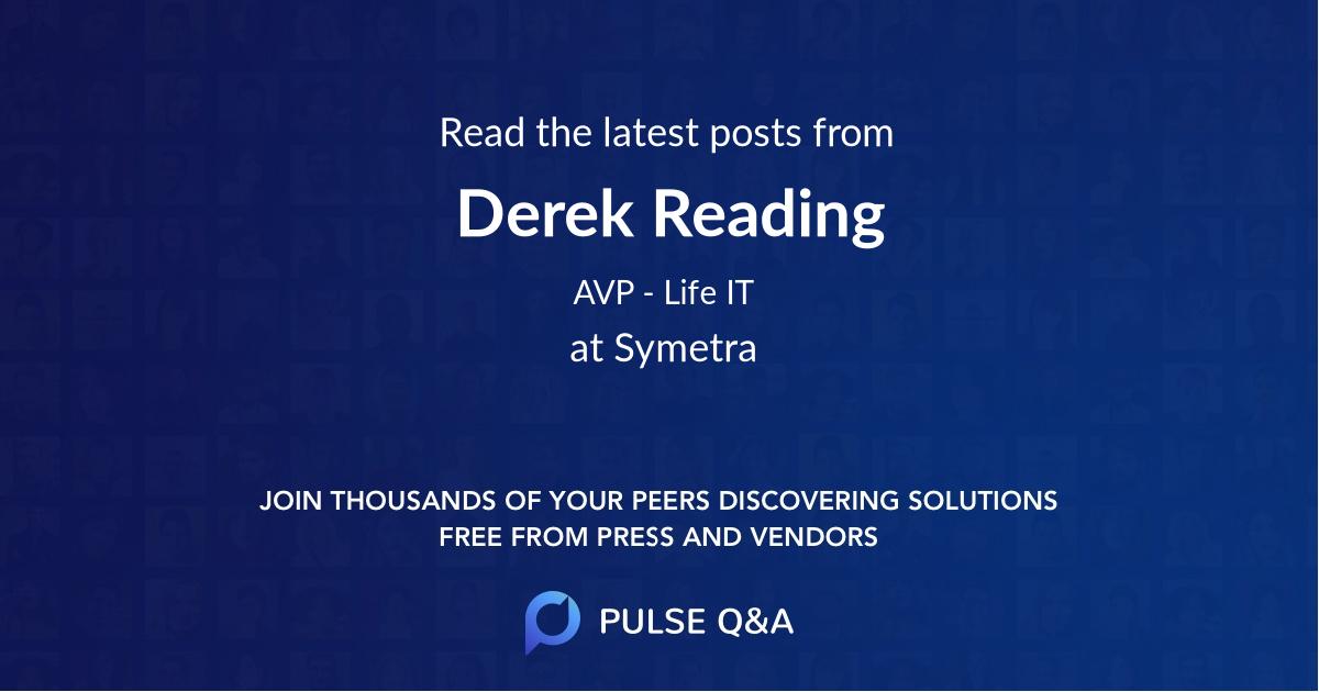 Derek Reading