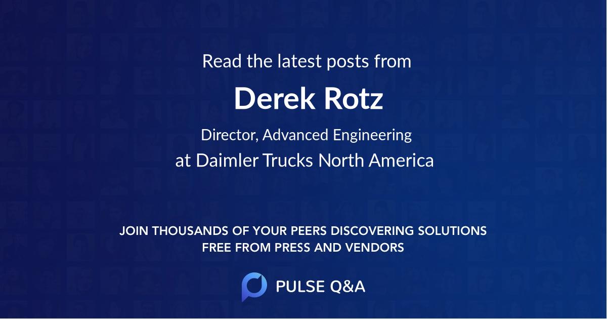 Derek Rotz