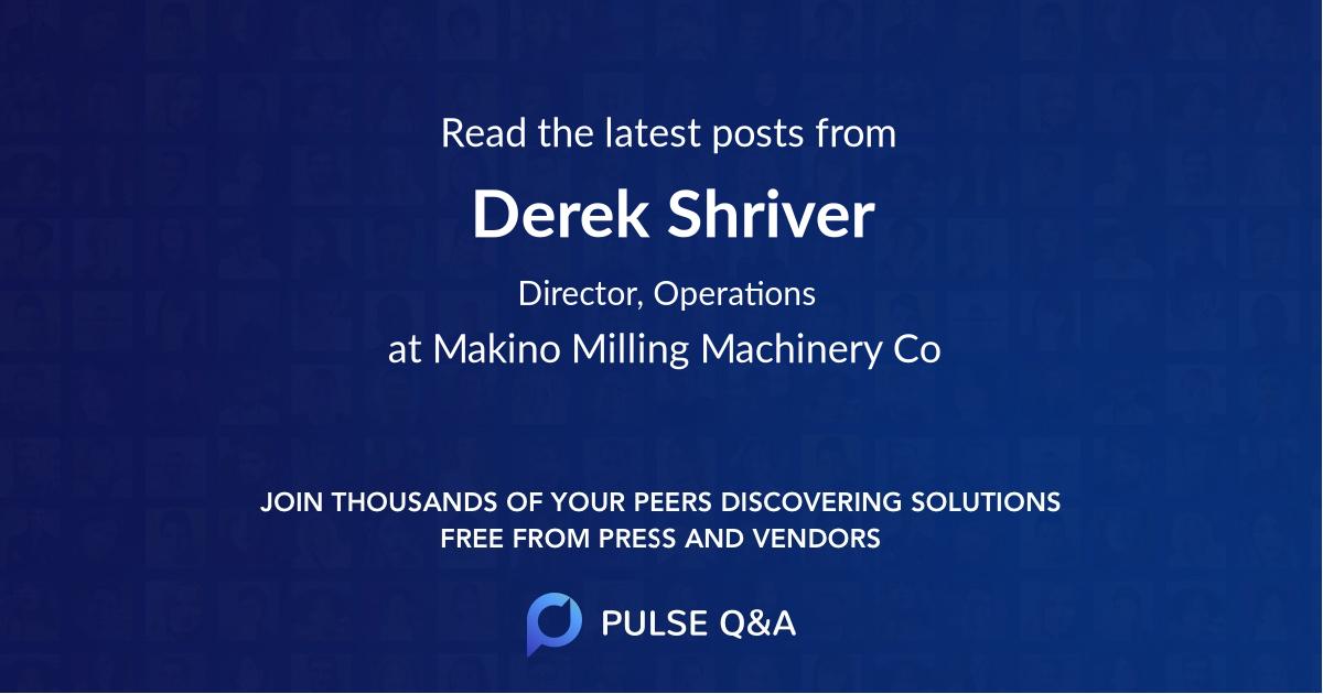 Derek Shriver