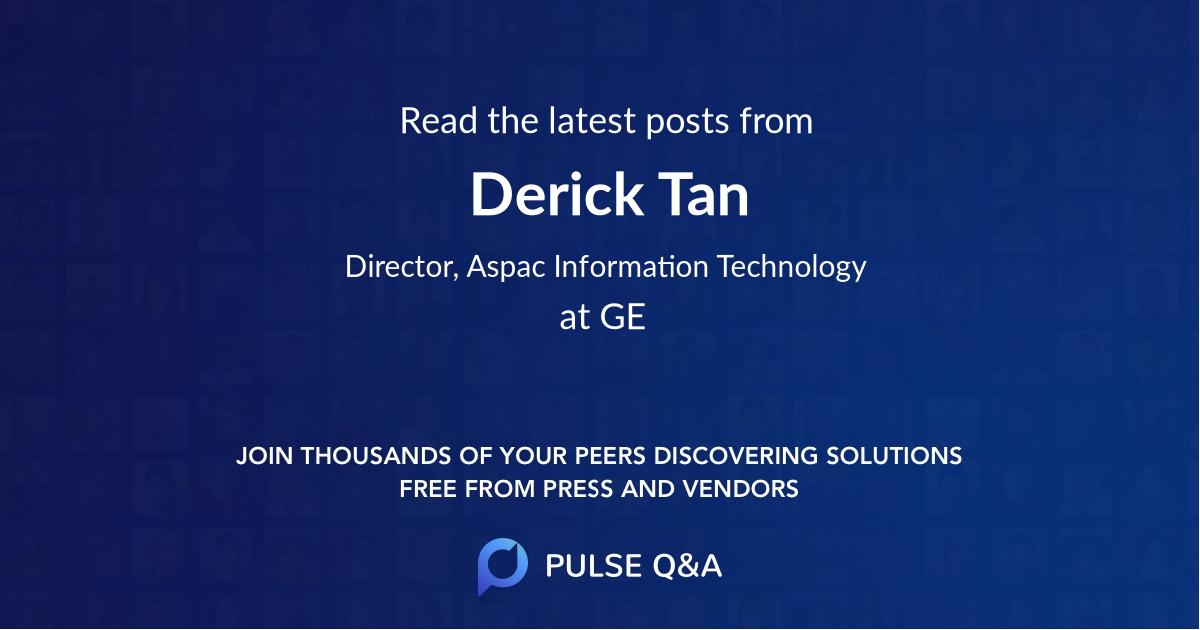 Derick Tan