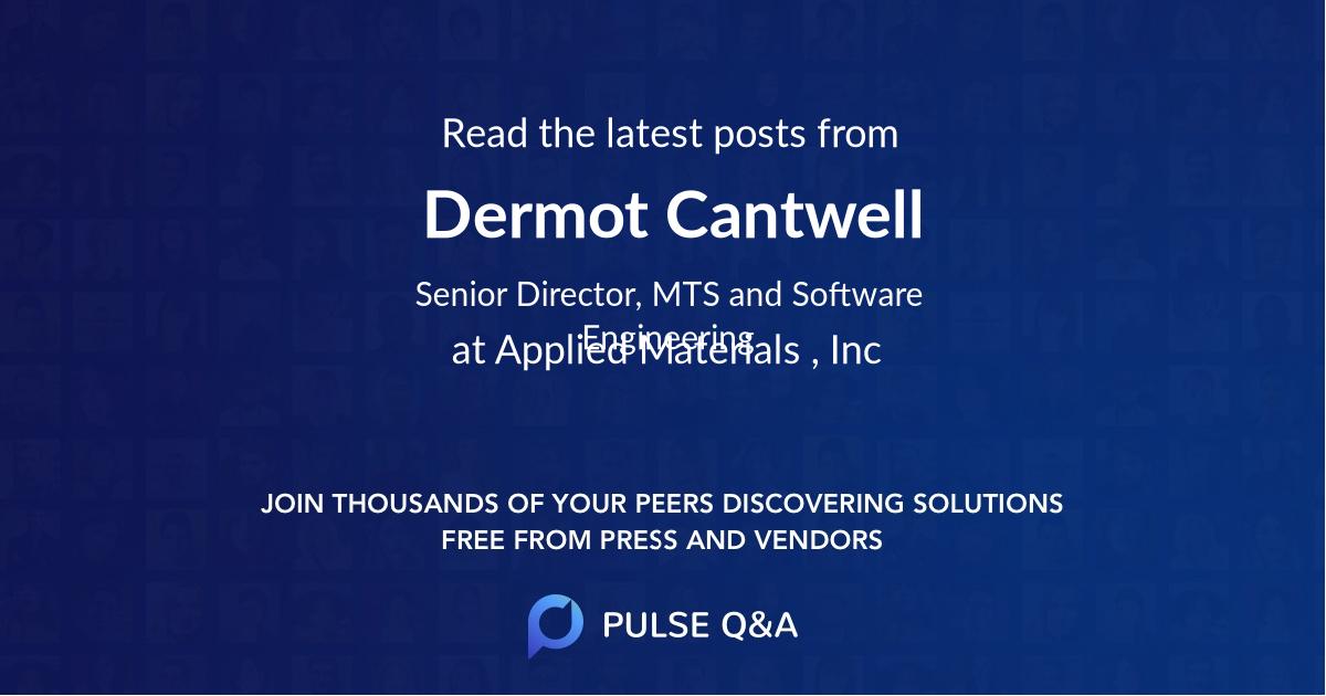 Dermot Cantwell