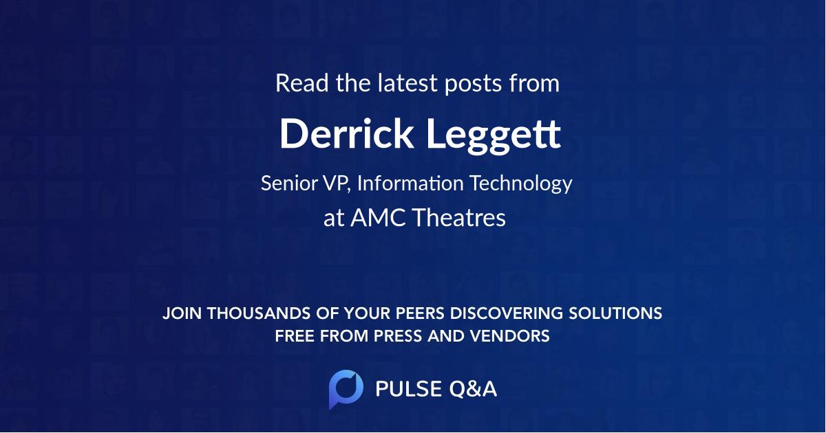 Derrick Leggett