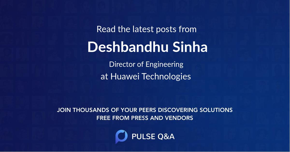 Deshbandhu Sinha