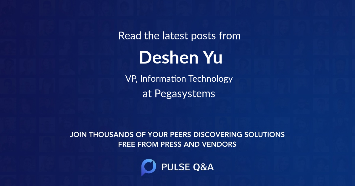 Deshen Yu