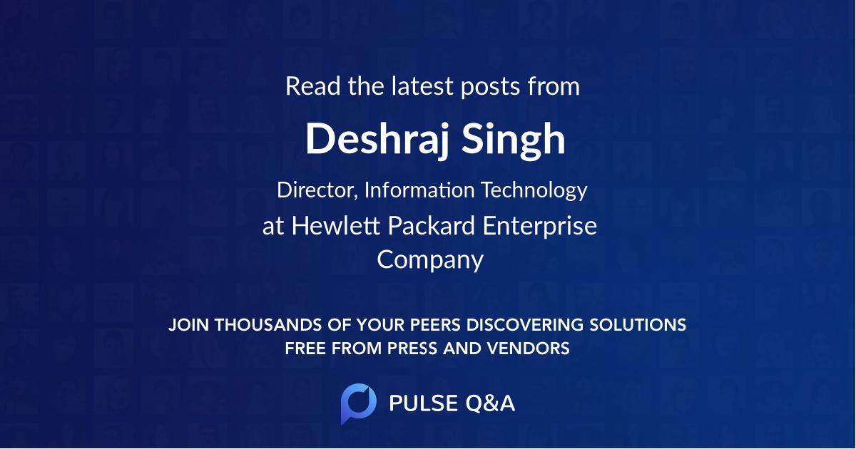 Deshraj Singh