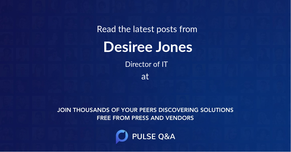 Desiree Jones