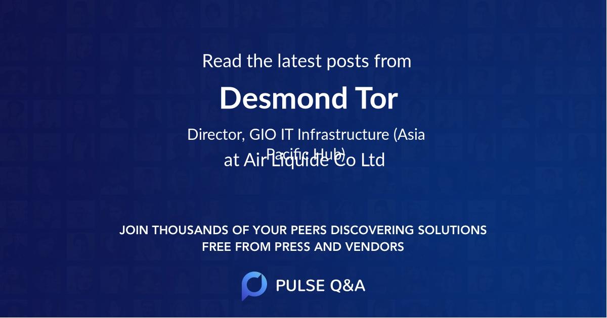 Desmond Tor