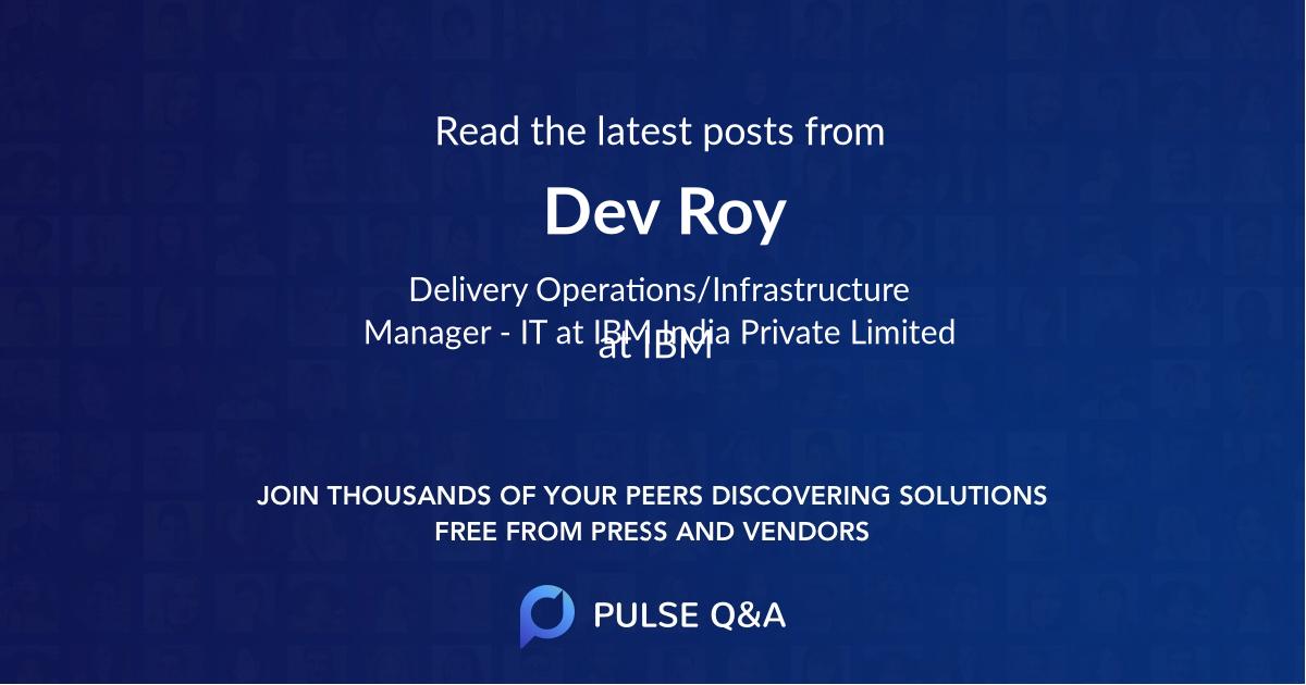 Dev Roy