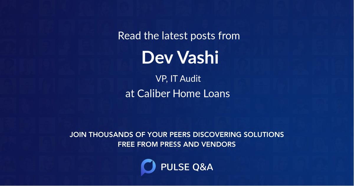 Dev Vashi