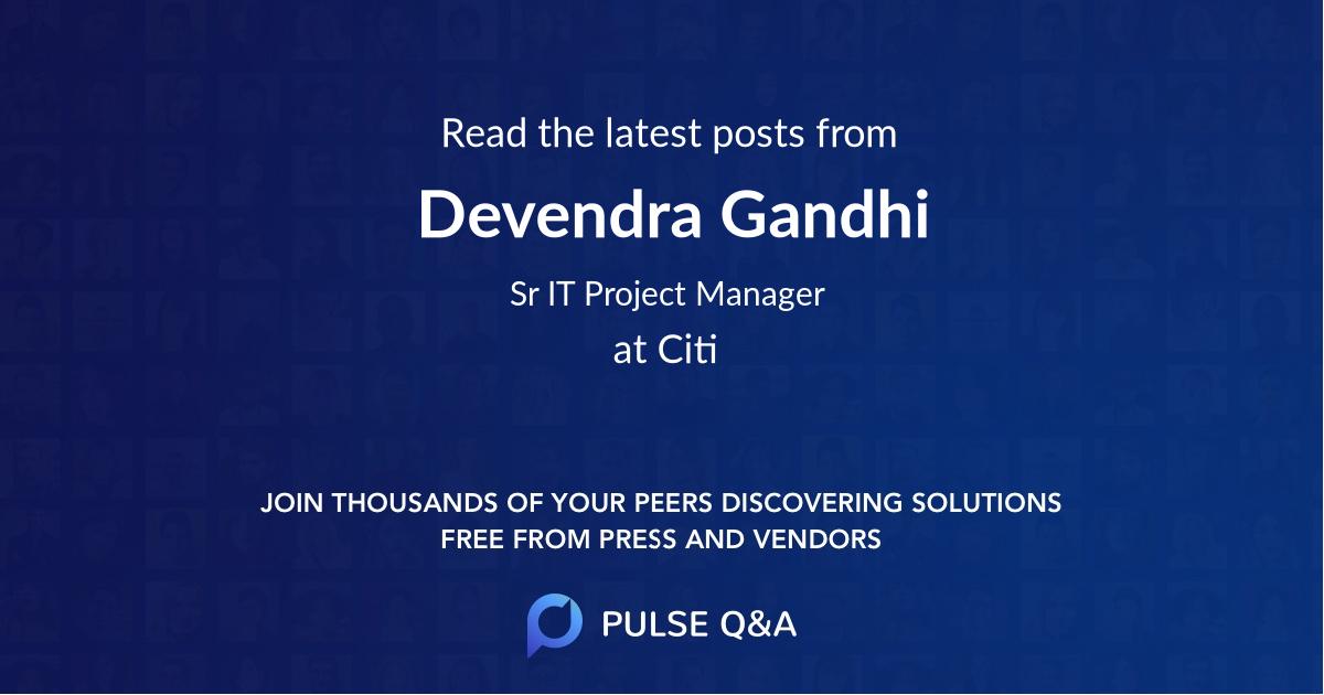Devendra Gandhi