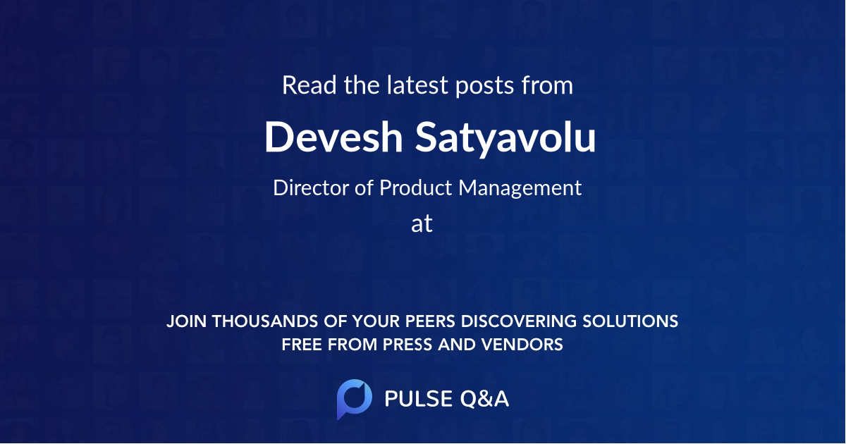 Devesh Satyavolu
