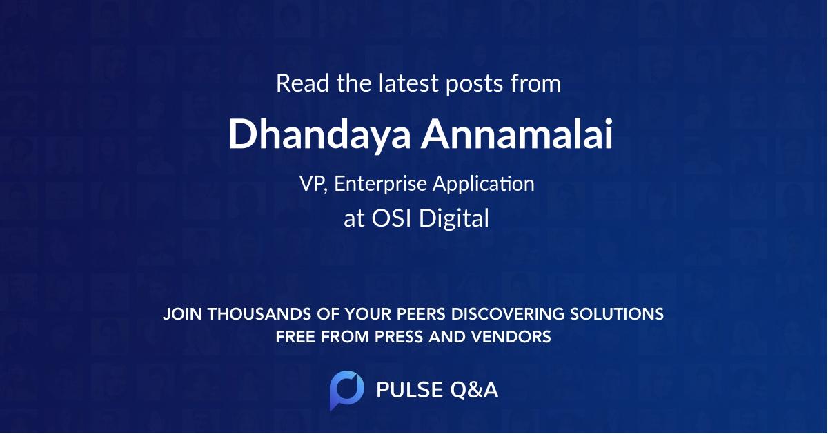 Dhandaya Annamalai