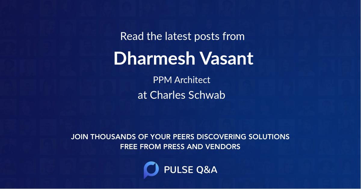 Dharmesh Vasant