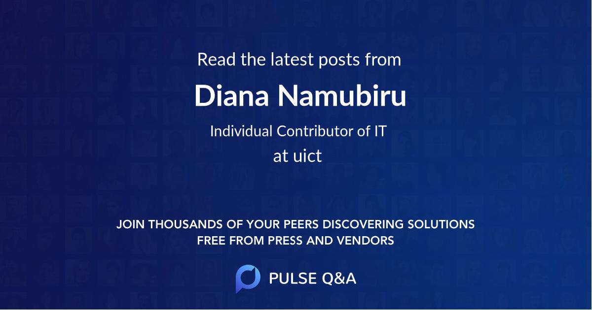 Diana Namubiru
