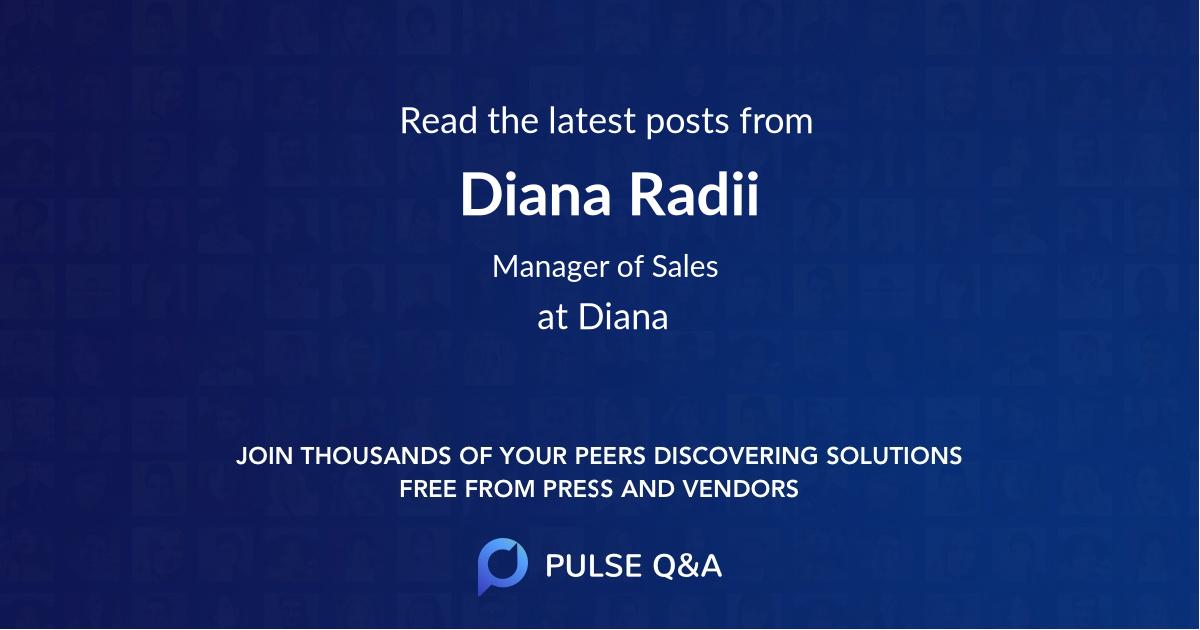 Diana Radii