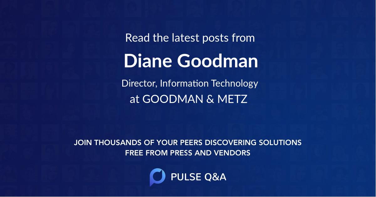 Diane Goodman