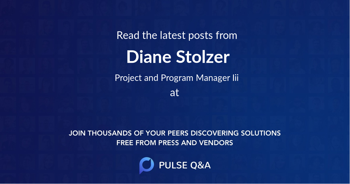 Diane Stolzer