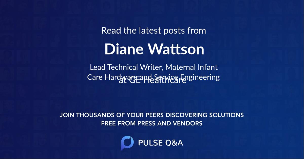 Diane Wattson