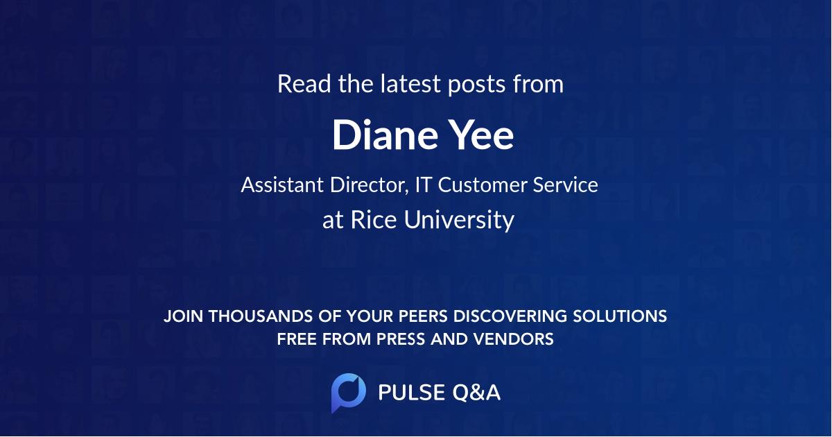 Diane Yee