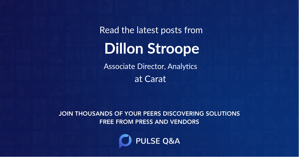 Dillon Stroope