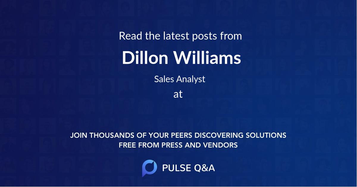 Dillon Williams
