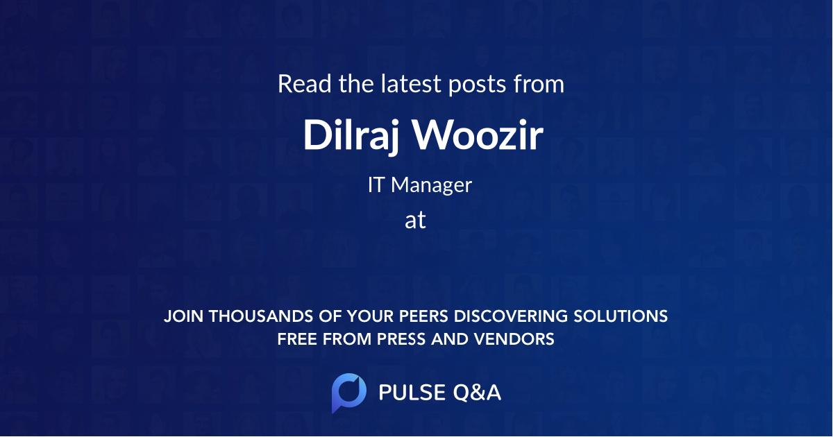 Dilraj Woozir