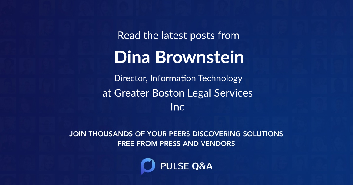 Dina Brownstein