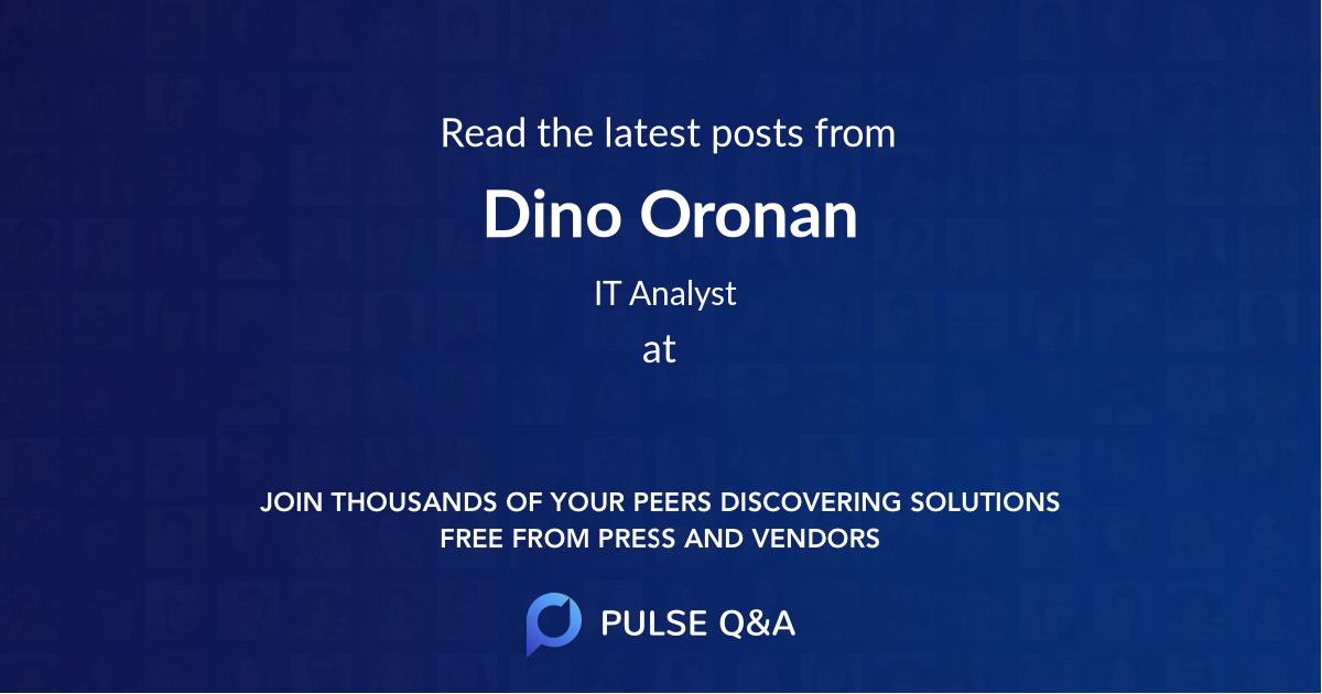 Dino Oronan