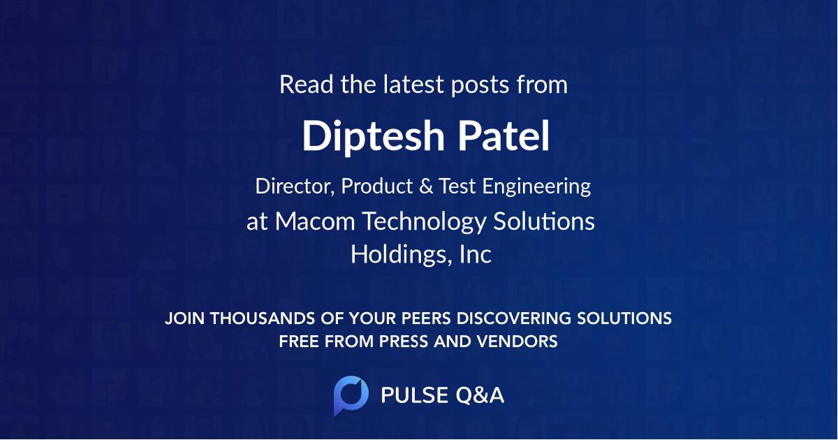 Diptesh Patel