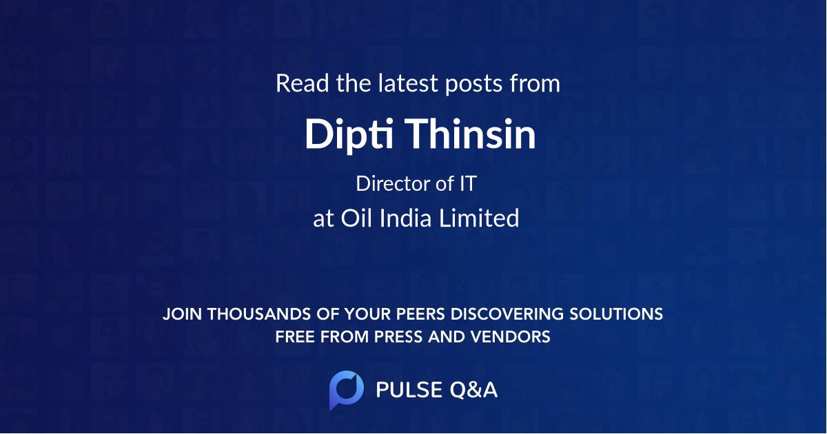 Dipti Thinsin