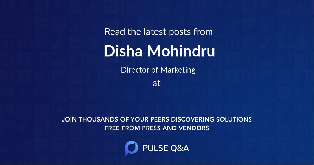 Disha Mohindru