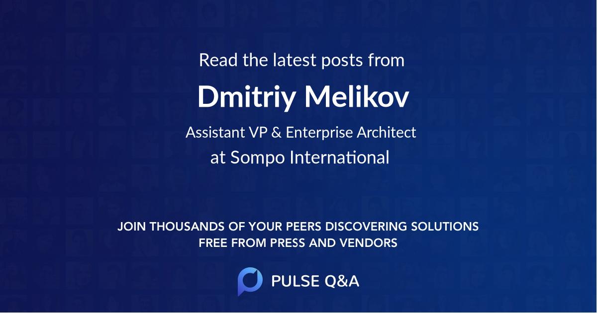 Dmitriy Melikov