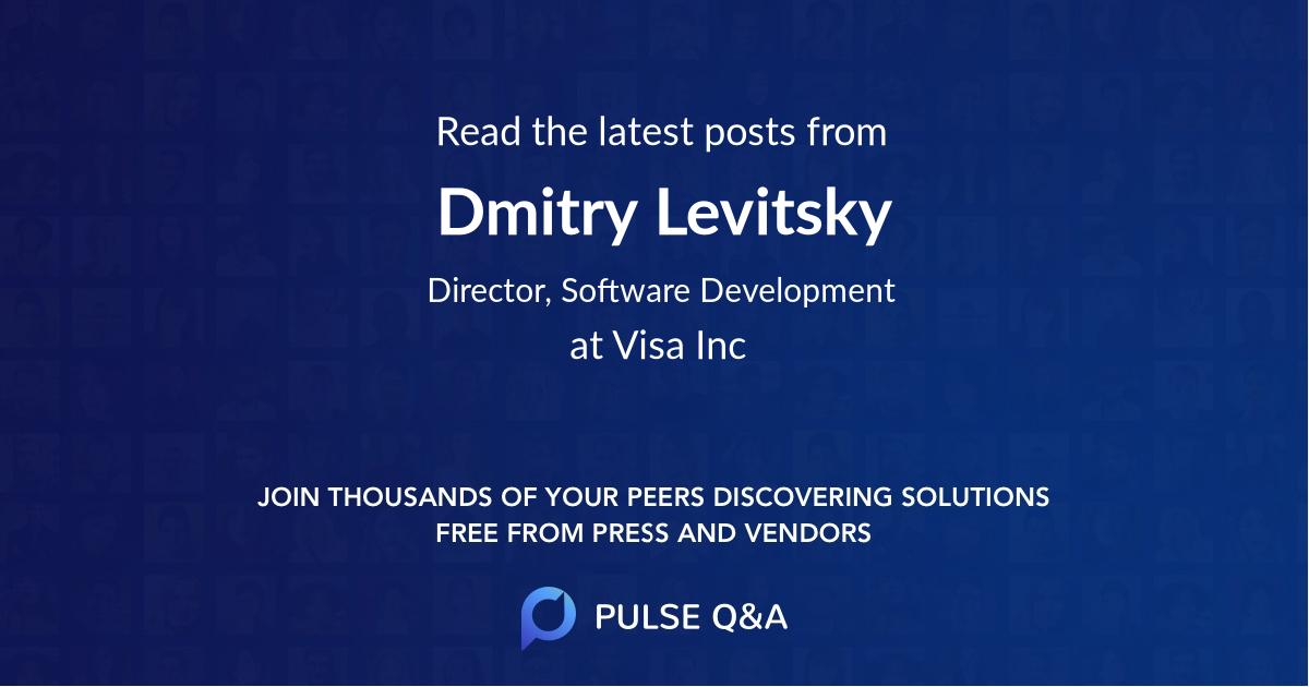 Dmitry Levitsky