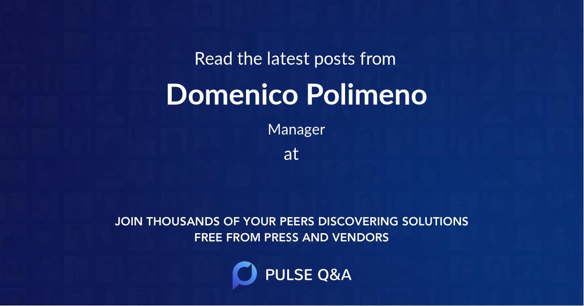 Domenico Polimeno