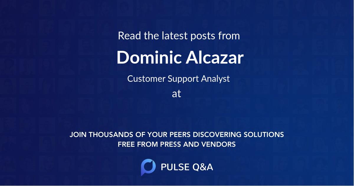 Dominic Alcazar
