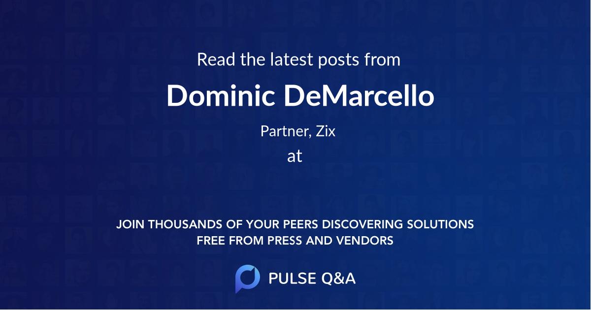 Dominic DeMarcello
