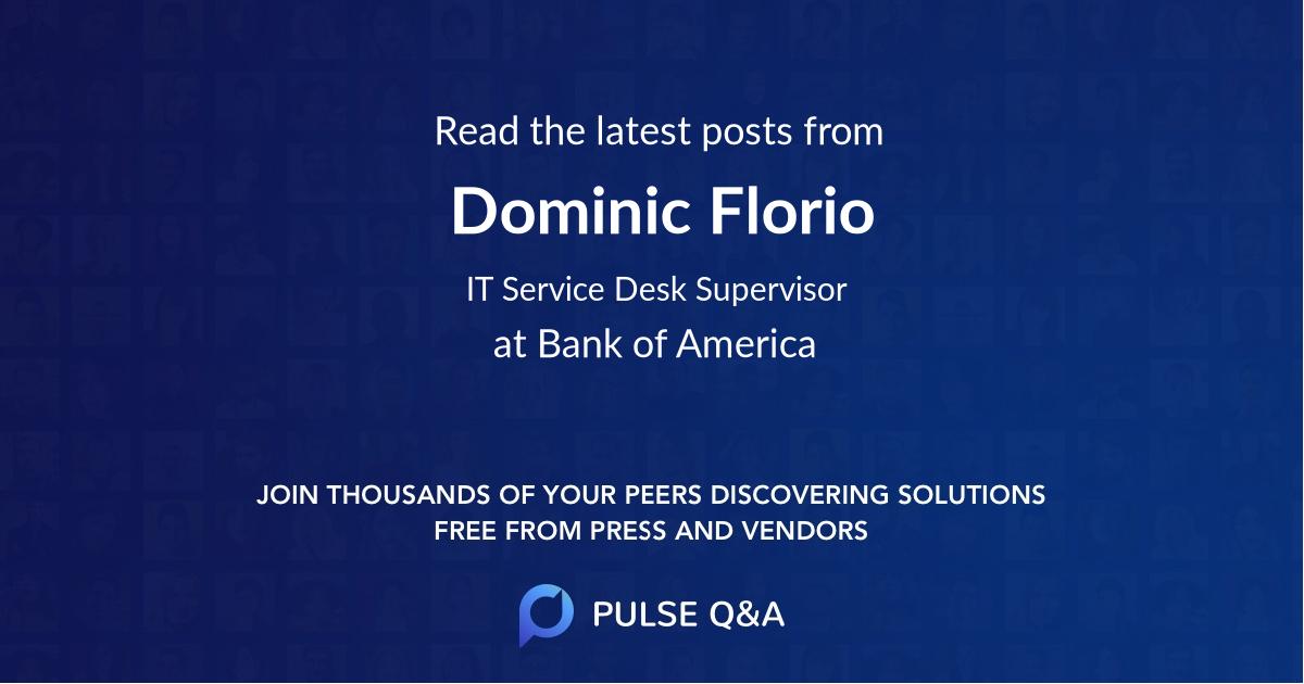 Dominic Florio