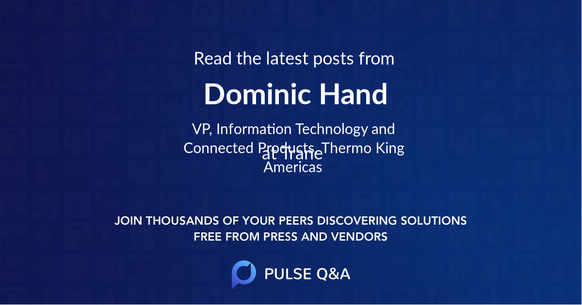 Dominic Hand