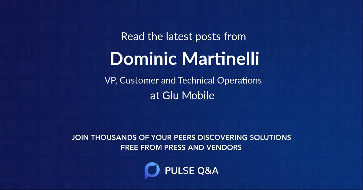 Dominic Martinelli