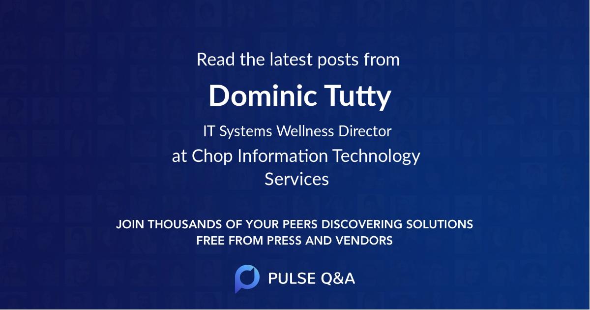 Dominic Tutty