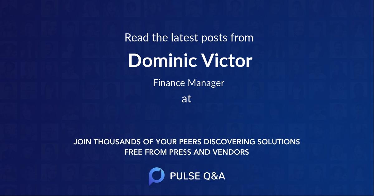 Dominic Victor