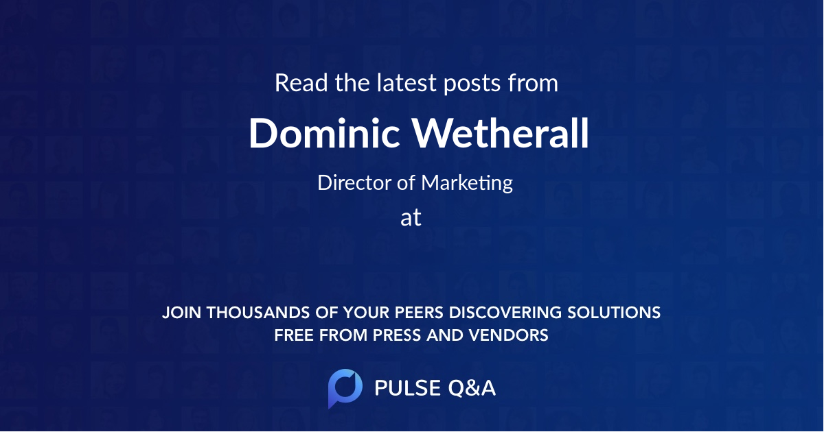 Dominic Wetherall