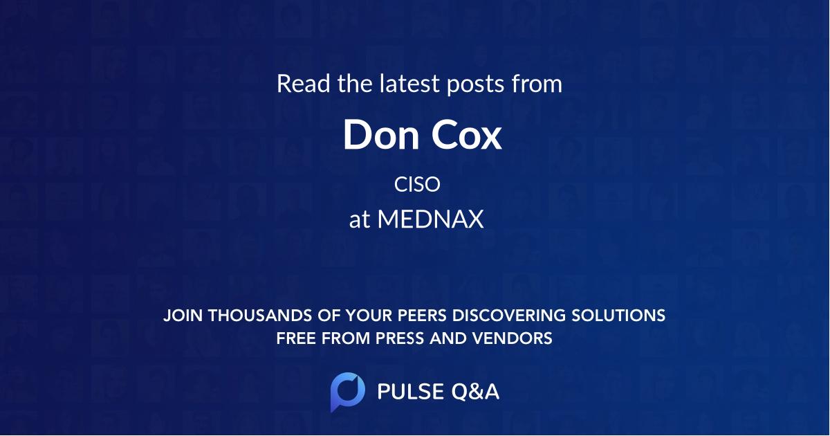 Don Cox
