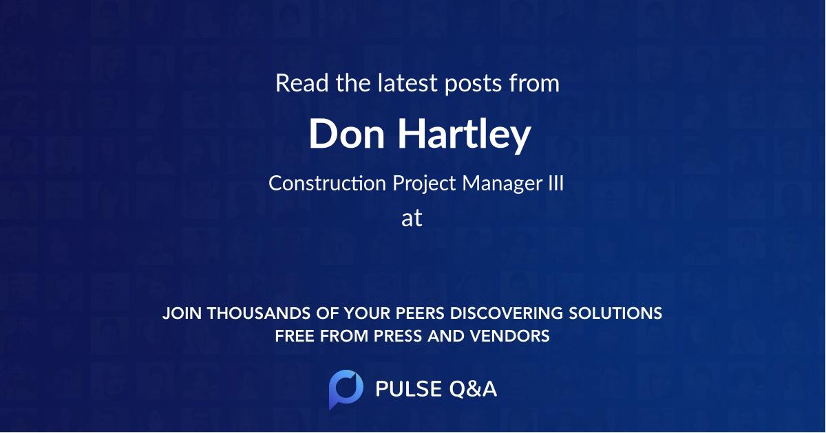 Don Hartley