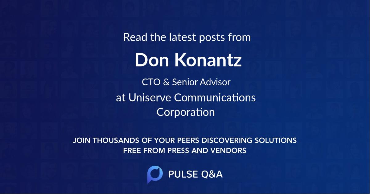 Don Konantz